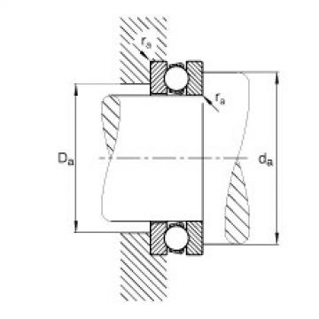 FAG Rolamento axial de esferas - 51211