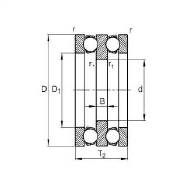 FAG Rolamento axial de esferas - 52214