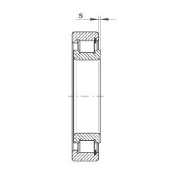 FAG Rolamento de rolos cilíndricos - SL183040