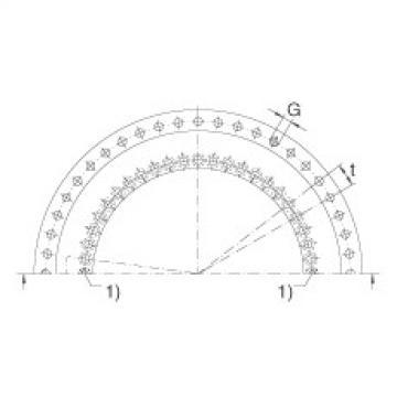 FAG Rolamento axial/radial - YRTM200