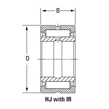 Bearing HJ-14817848 IR-12814848