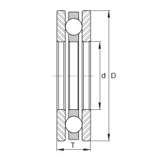 FAG Rolamento axial de esferas - FTO7