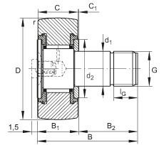 FAG Rolos de leva - KR16-PP