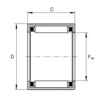 FAG Buchas de agulhas - SCH57
